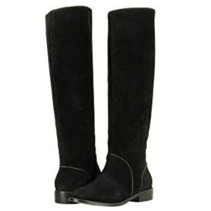 ❤️New Ugg Gracen Suede Black tall boots Sz 11